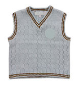 Knitted vest — Stock Photo