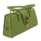 Green bag — Stock Photo