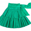 Stock Photo: Green skirt