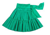 Green skirt — Stock Photo