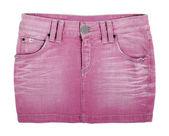 牛仔裤裙子 — 图库照片