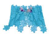 Blue miniskirt — Stock Photo