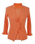 Oranje blouse — Stockfoto