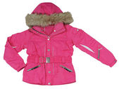 Pink jacket — Stock Photo