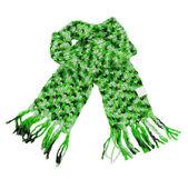Зеленый шарф — Стоковое фото