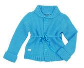 Blue jacket — Stock Photo