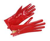 赤い手袋 — ストック写真