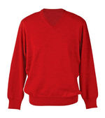 Red sweater — Stock Photo