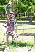 Iron figure — Stock Photo