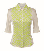 Silk blouse — Stock Photo