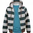 Striped jacket — Stock Photo
