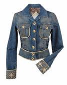 Jeans jacket — Stock Photo