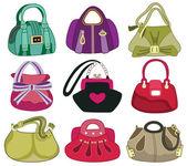 Collection og fashion handbag (vector illustration) — Stock Vector