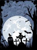 Halloween night — Stock Vector