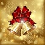två christmas klockor — Stockvektor  #13245725