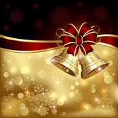 Christmas klockor — Stockvektor