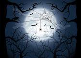 Temná noc — Stock vektor