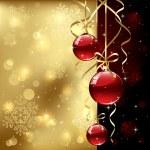 クリスマス ボール — ストックベクタ