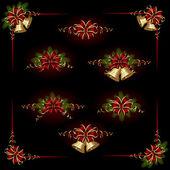 クリスマスの飾り — ストックベクタ