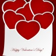 Royalty-Free Stock Vector Image: Valentines card