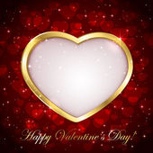 Sparkling valentines background — Stock Vector
