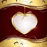 Gold heart — Stock Vector #19520809