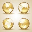 Golden Earth — Stock Vector #23948997