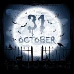 Halloween scene — Stock Vector #27497469