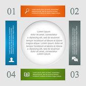 Conjunto de infografía — Vector de stock