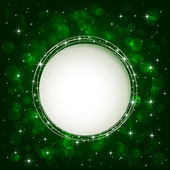 Green blurry light — Stock Vector