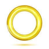 Anillo de oro — Vector de stock