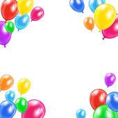 Dekorative ballons — Stockvektor