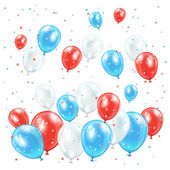 Independence day balloons — ストックベクタ