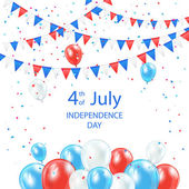 Happy Independence Day background — Stock Vector