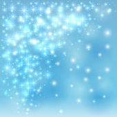 Blue sparkling background — Stock Vector
