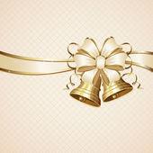 弓と鐘 — ストックベクタ