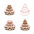 Set of cakes — Stock Vector #49975657