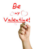 Be My Valentine I say! — Stock Photo