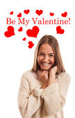 Be My Valentine! — Stock Photo