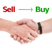 Sell Buy concept — Stock Photo