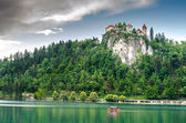Bled castle. — Stock Photo