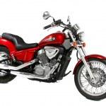 motocicleta roja — Foto de Stock   #10500090