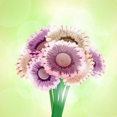 Bouquet of flowers — Vector de stock