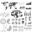 Stock Vector: Elements of infographics