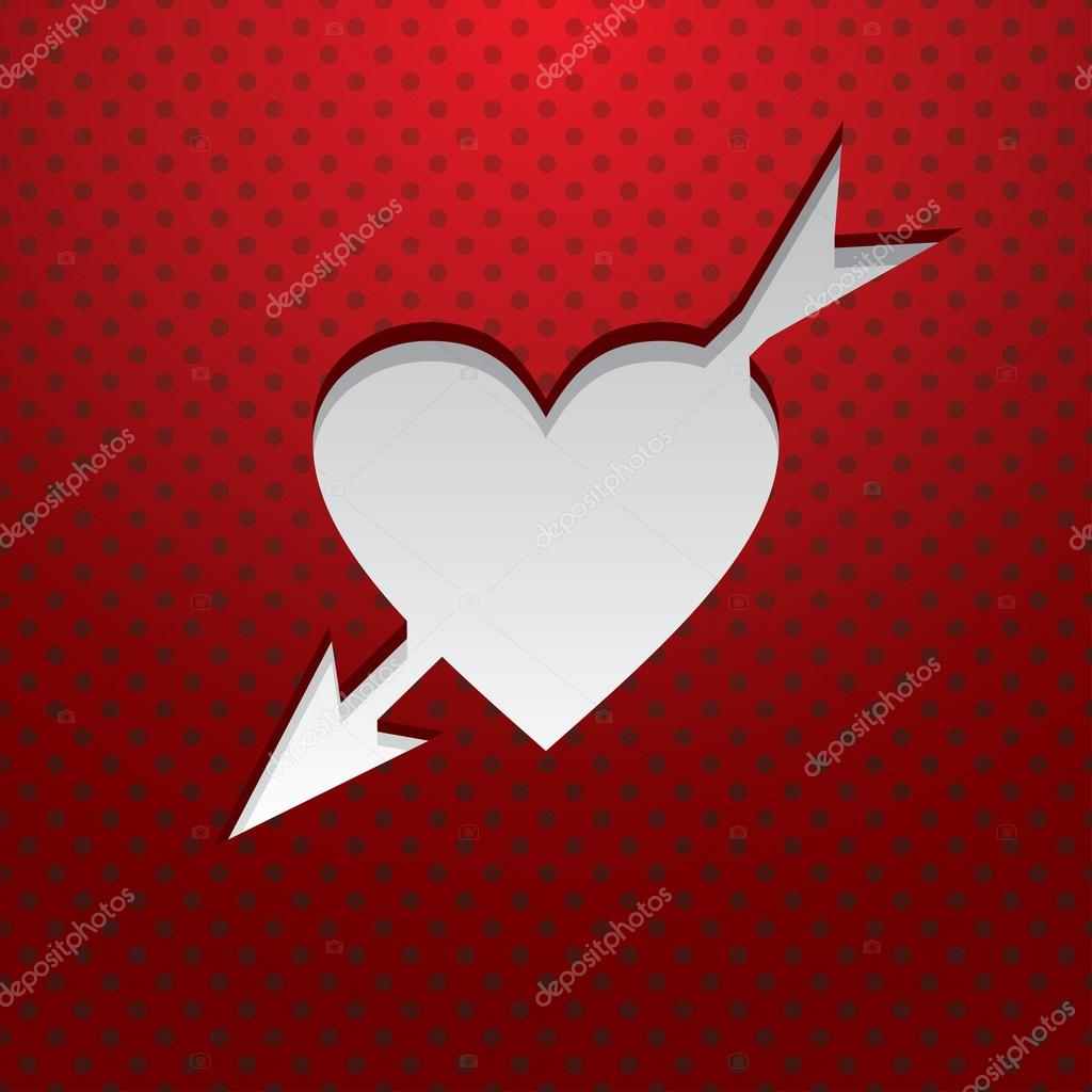 Valentine's Day Card — Stock Vector #19499299