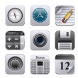 Apps icons — Stockvector #19500309