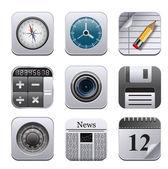 Icônes des apps — Vecteur
