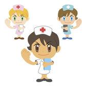 Kommentar av en sjuksköterska — Stockvektor