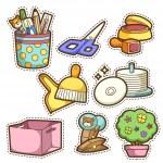 School set. set of different school items — Stock Vector #29634173