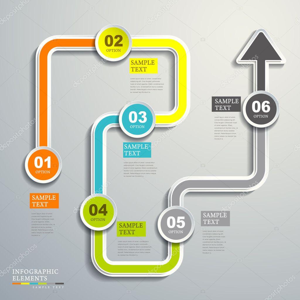 Infographic flow